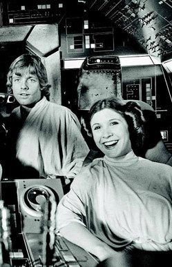 The Making of Star Wars - Mark Hamill and Carrie Fisher