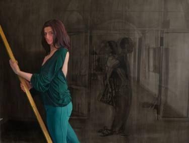 "Saatchi Art Artist Emanuel-Alexandru Gliga; Painting, ""Duplicity"" #art"