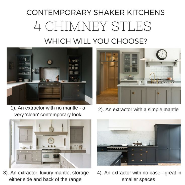 How To Choose Kitchen Chimney 1. 4 Contemporary Shaker Kitchen Chimney Styles Discover More Home Renovation And Design Pinterest Shaker Kitchen Luxury Decor And Contemporary