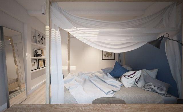 Łóżko z baldachimem, czyli aranżacja sypialni otulonej snem