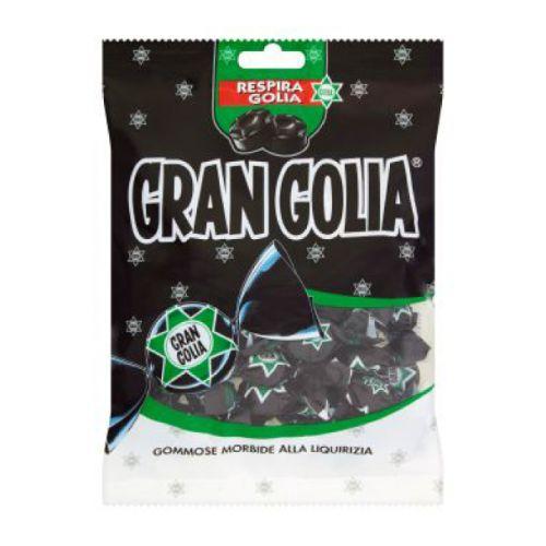 Лакричные конфеты Perfetti Van Melle Gran Golia
