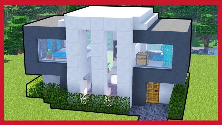 Minecraft come costruire una casa moderna minecraft for Idee per casa moderna