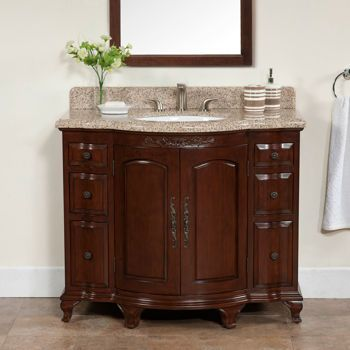 6 drawer vanity with granite top backsplash costco bathrooms pinterest. Black Bedroom Furniture Sets. Home Design Ideas
