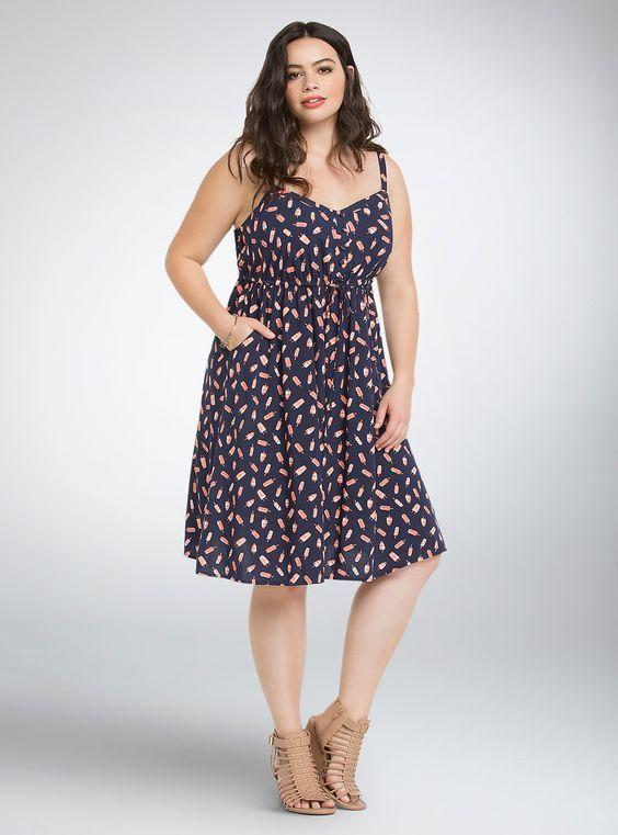 Long dress untuk orang gemuk lucu