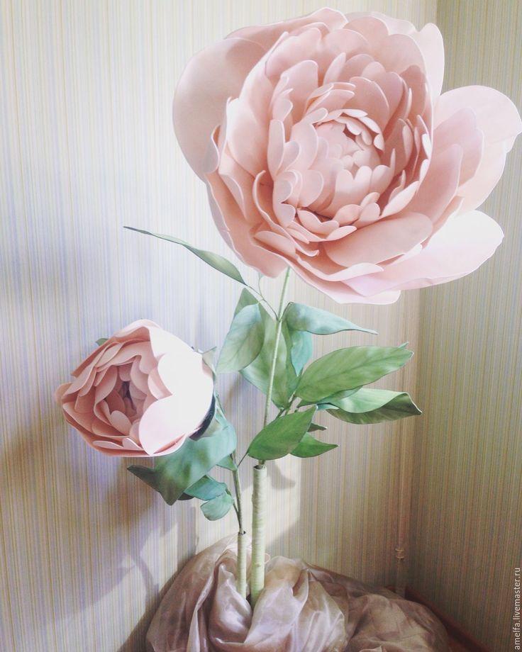 Купить Аренда гигантских цветов из фоамирана - свадебное оформление, гигантские цветы, огромные цветы