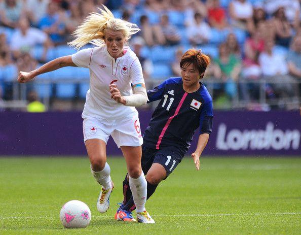 Kaylyn Kyle  Midfielder  2012 Canadian Women's Soccer Team