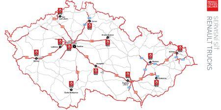 SERVISNÍ SÍŤ - SERVISNÍ A OBCHODNÍ SÍŤ - Renault Trucks