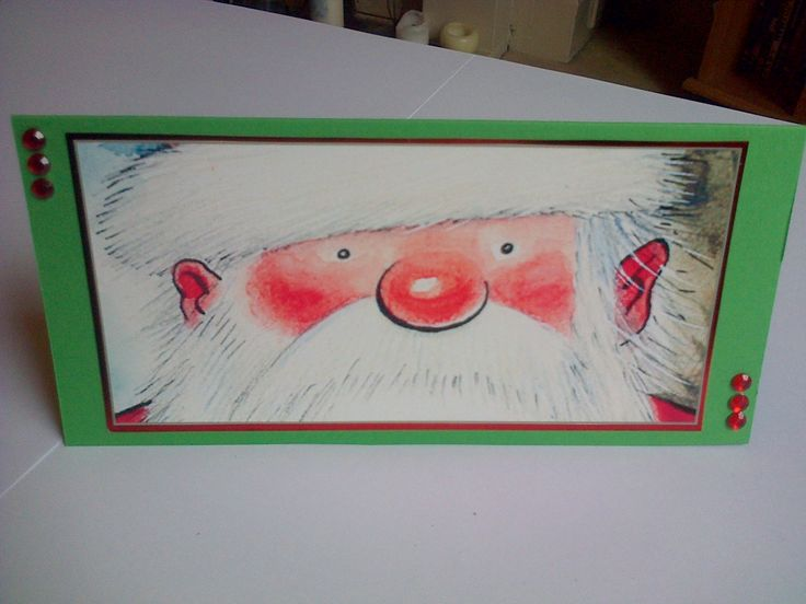 crafters companion father christmas money wallet
