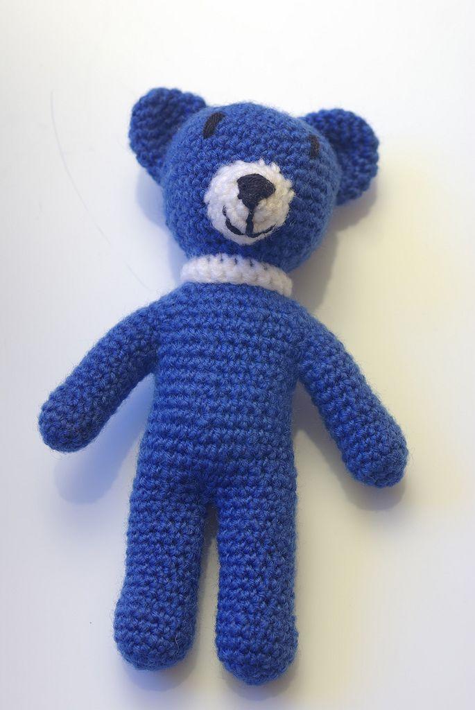 Ourson Bleu-pattern en francais