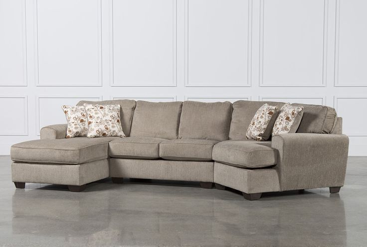 Patola Park 3 Piece Cuddler Sectional W/Laf Corner Chaise - Signature