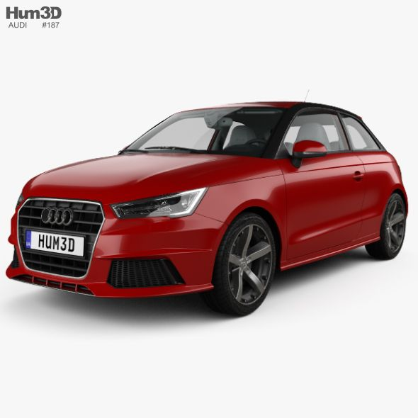 Audi A1 3 Door With Hq Interior 2015