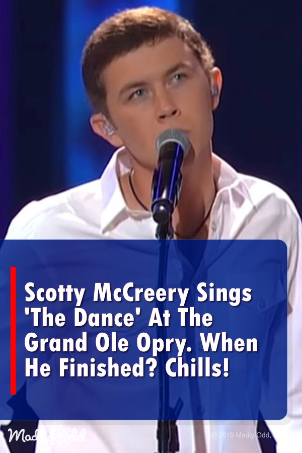 Scotty McCreery Chose to Sing This Garth Brooks Classic at The Opry. When He Fin… – William Brooks
