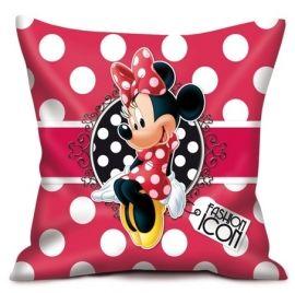 Minnie Mouse kussen ter decoratie van de kinderkamer. Mooi in de kinderkamer, op bed of op de bank.Formaat: 35 x 35 cm   ;