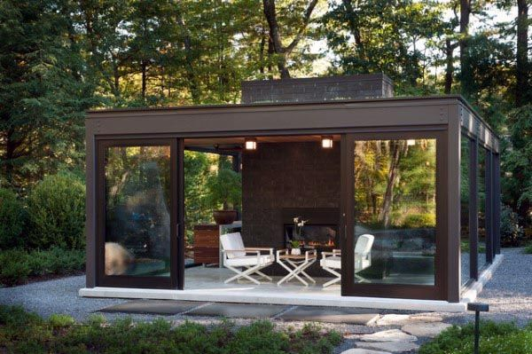 Top 50 Best Backyard Pavilion Ideas Covered Outdoor Structure Designs Modern Patio Design Modern Gazebo Backyard Pavilion