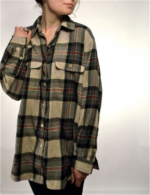 Over-sized flannel #lulusholiday