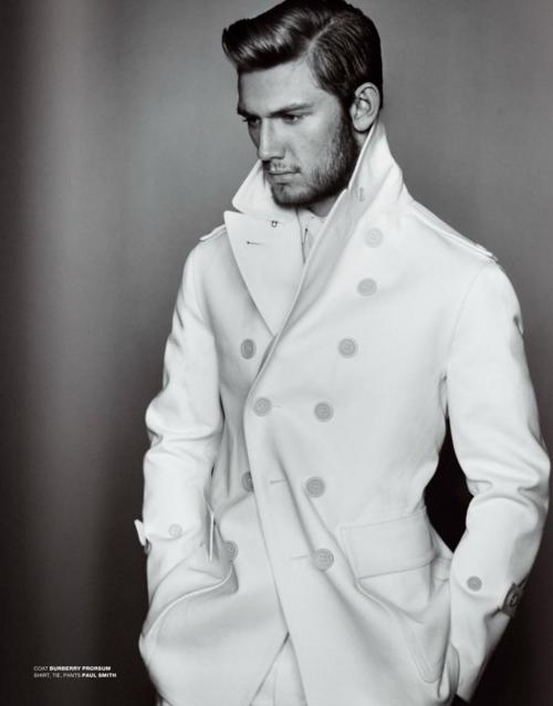 nom: White Coats, Men Style, Men Fashion, Labs Coats, Alex Pettyfer, Guys Hair, Man Style, Men Hairstyles, Alex O'Loughlin
