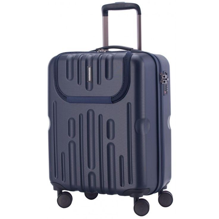 Havel - Handgepäck Koffer Hartschale Dunkelblau matt, TSA,  54 cm, 41 Liter - Blaue #Reisetrolleys von #Hauptstadtkoffer.  #Hartschalenkoffer #Handgepäck #Cabinsize #Boardtrolley #blau #Rollkoffer #Trolley #Koffer #Travel #Luggage #Reisen #Urlaub #blue #bleu => mehr blaue #Reisekoffer: https://hauptstadtkoffer.de/de/reisegepack/alle-produkte