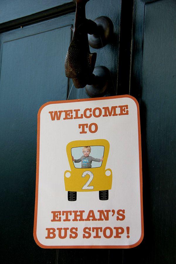 Welcome to Kieran's Pirate Bus Stop hahaha