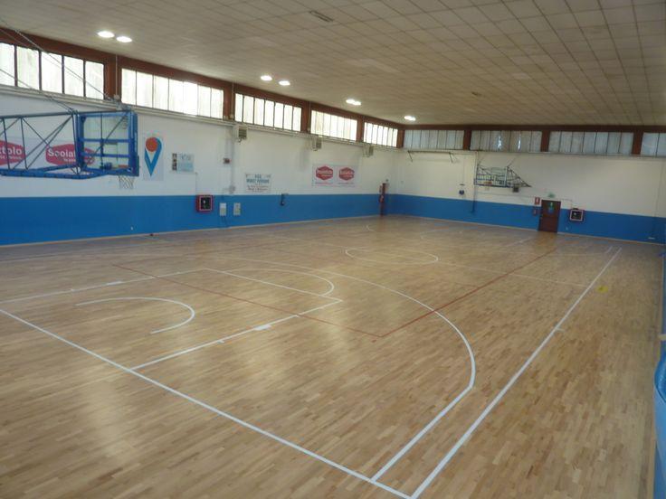 The new sports parquet Dalla Riva Sportfloors installed in Venegono is FIBA approved