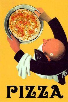 vintage italian food posters - Google Search