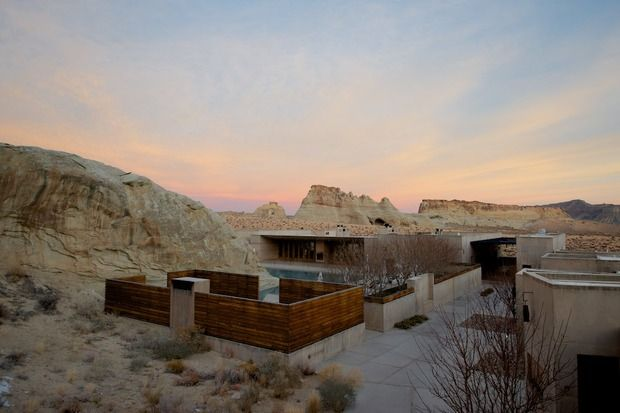Amangiri utah deserts and resorts for Design hotel utah