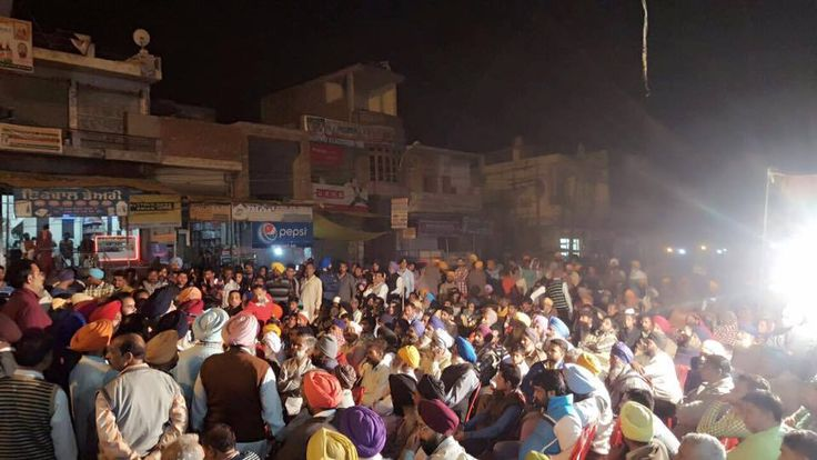 Enthusiastic response of people in Bhikhiwind where a small meeting turned out to be a huge rally. Senior Akali leaders Virsa Singh Valtoha and Amarjeet Singh addressed the gathering. #AkaliDal #ProgressivePunjab