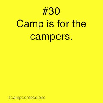 Best Summer Camp Quotes Images On   Camp Counselor