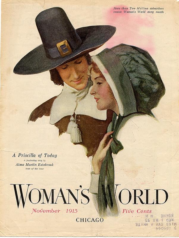 Woman's World magazine, November 1915. #vintage #Edwardian #Thanksgiving #magazines