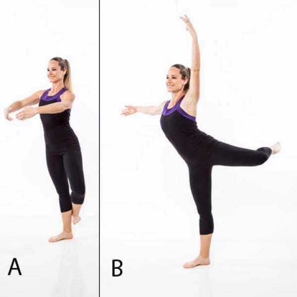 Combo Workout Plan: Kickboxing Training and Ballet Dance - Combo Workout Plan: Kickboxing Training and Ballet Dance - Shape Magazine