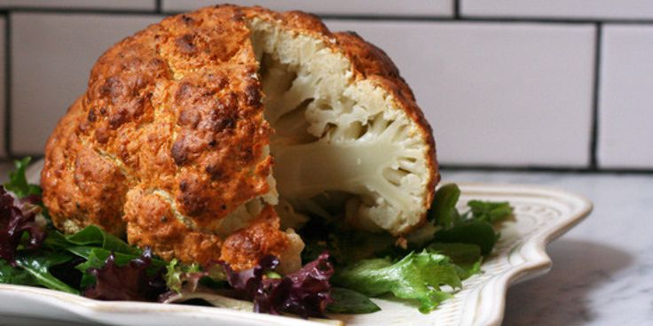 Roasted cauliflower? Been there, done that. But roasting a whole head of cauliflower? Now we've got your attention....