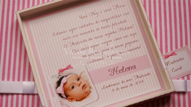 Viviane Bonaventura: Batizado Menina