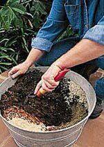 Potting Soil Recipes, Soil Mixes and Soil Reconditioning