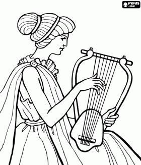 ancient greece free coloring pages - photo#26