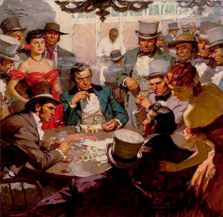 Tepper, Saul (b,1899) High Stakes Poker Art