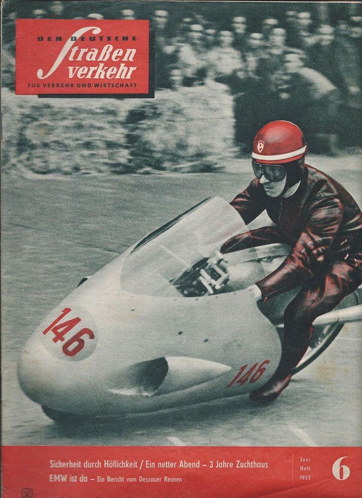 DER deutsche Straßenverkehr DDR Auto Magazin Zeitschrift 6/1955 KULT RAR B61726… – factsaboutww2
