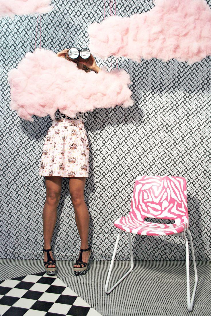 Pink cloud fantasy #DIYcouture