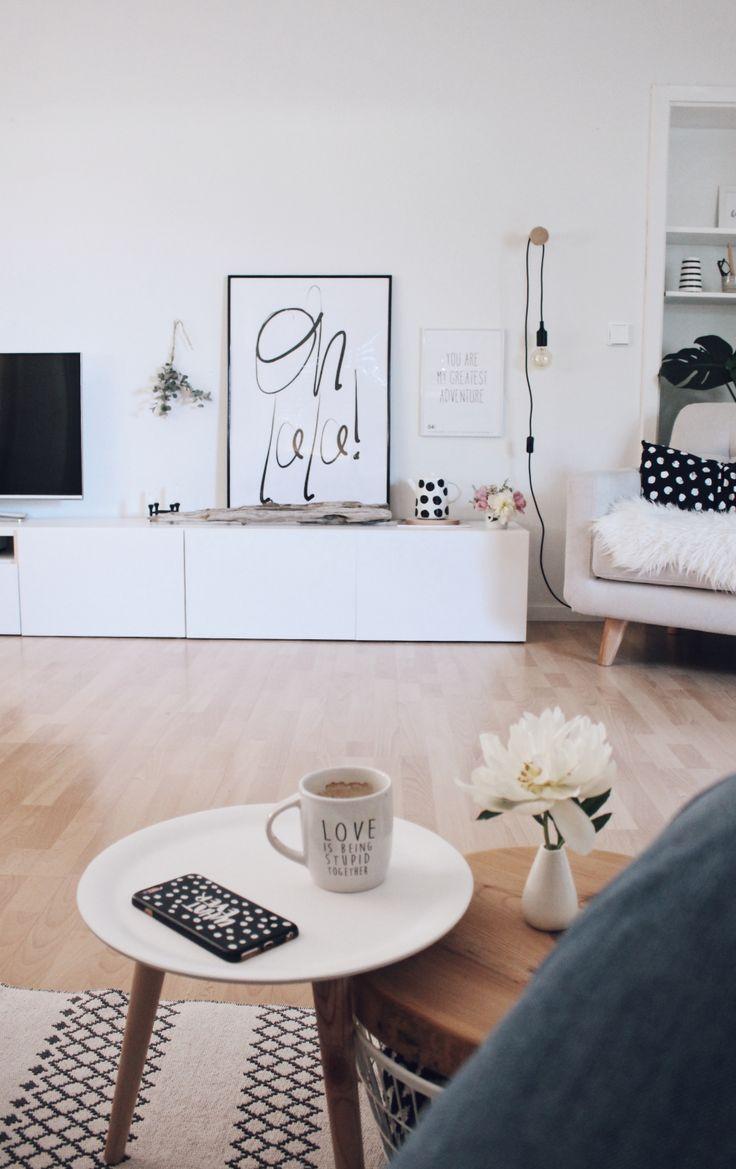 Neue Wandfarbe von Schöner Wohnen und ein schnelles DIY