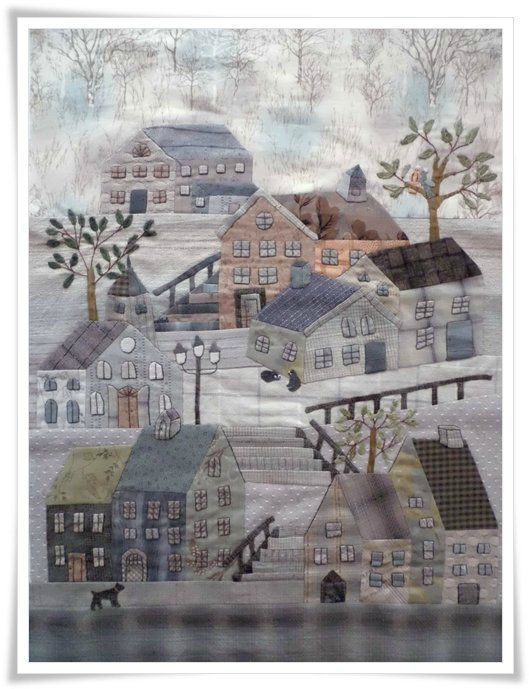 quilt mystère Yoko Saito from Quiltmania Magazine---I'm charmed!!!
