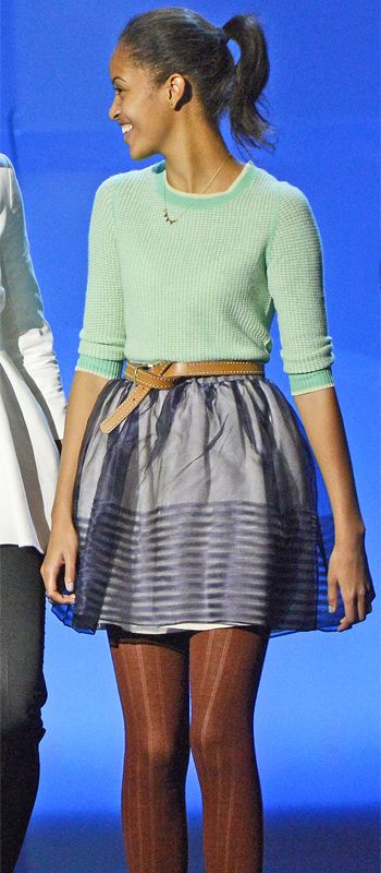It's Malia Obama's 18th Birthday! See Her Incredible Style Evolution - 2013 from InStyle.com