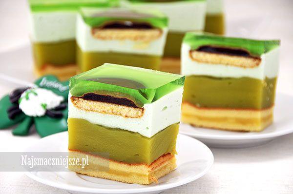 Ciasto Shrek, zielone ciasto, Shrek, najsmaczniejsze.pl, Patrick's Day, sernik na zimno