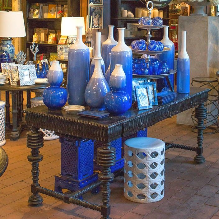 Blue and white is always a classic color combination and can be  incorporated in so many