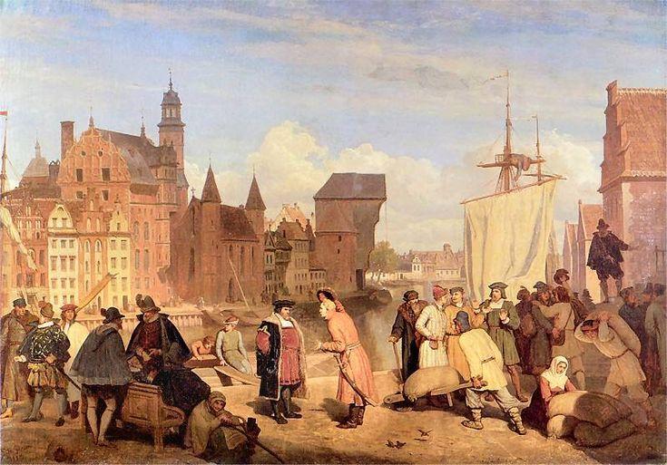 Wojciech Gerson - Gdańsk w XVII wieku, 1865