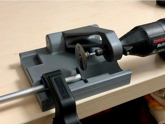 Rod and Tube Cutter for Dremel by GreaseMonkey88
