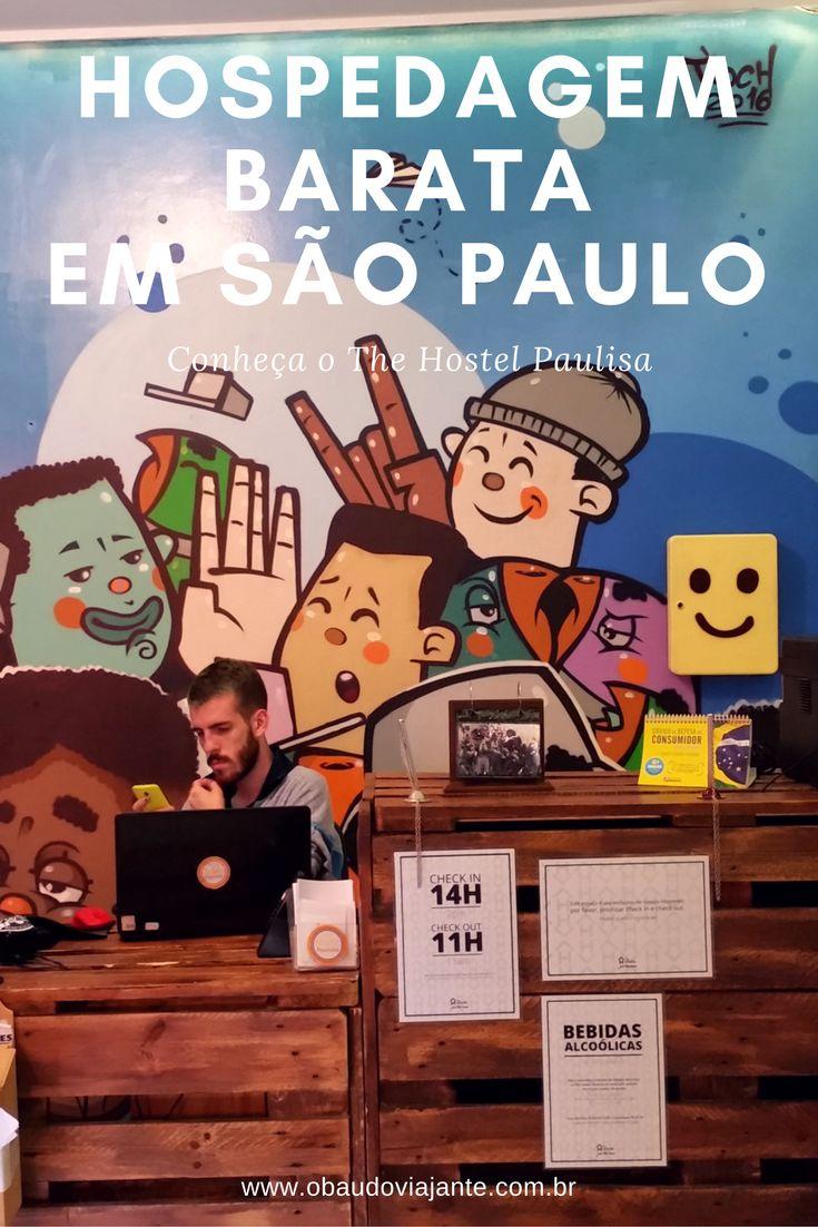 Achar um lugar barato para se hospedar em São Paulo não é tarefa fácil, ainda mais perto da Paulista. Por isso queremos dar essa super dica. O The hostel Paulista é uma opção de hospedagem em São Paulo com ótimo custo-benefício.