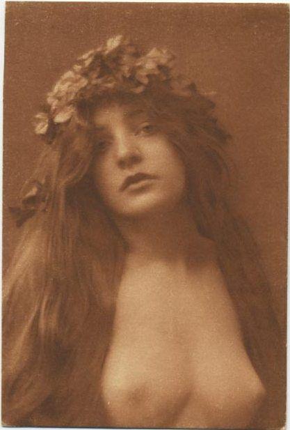 wedding vintage Girl nude