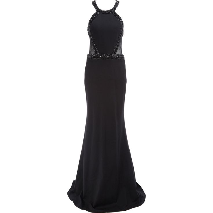 Forever Unique Black Jewel Dress