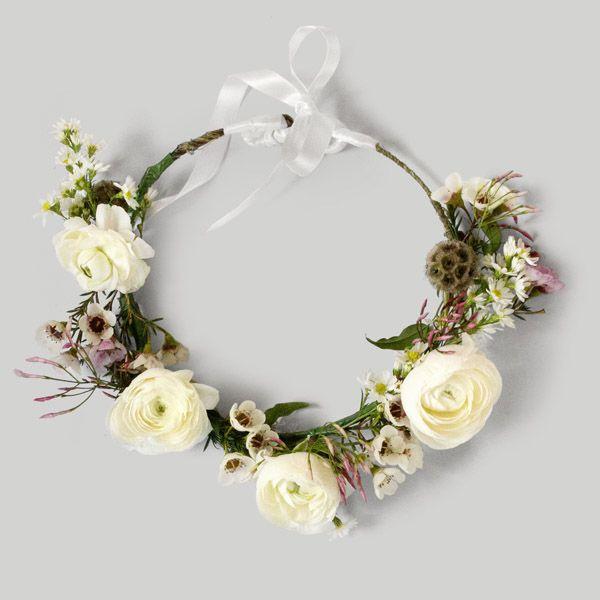 Flower crown Gardenbird Flowers Web Shop | Art Direction & Photography | Lynda Evans