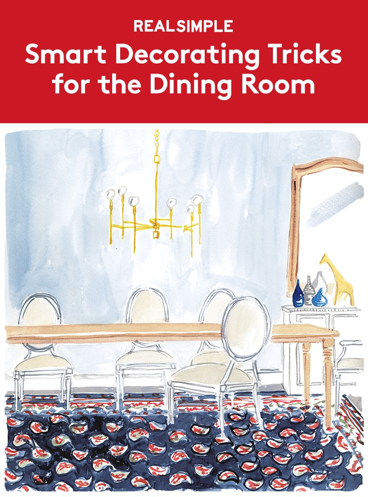 Smart Decorating Rules For The Dining Room