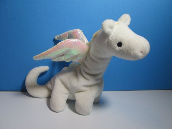 vintage ty beanie baby dragon magic free shipping by njdigfinds