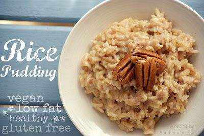 Southern In-Law: Recipe: Quick and Easy Stovetop Rice Pudding